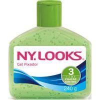Gel Fixador Nylooks 240G Verde Extra Forte3 - Cód. 7896235319658C12