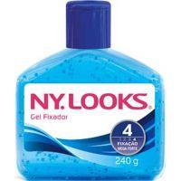 Gel Fixador Nylooks 240G Azul Mega 4 - Cód. 7896235319634C12