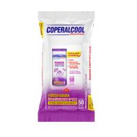 Pano Umedecido Coperalcool Lavanda 70º 50Un - Cód. 7896090701261C12
