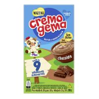 Amido de Milho Cremogema Chocolate 180g - Cód. 7891150068278C24