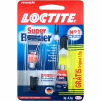 Cola Loctite Super Bonder 3g 1un + Gratis Cola Loctite Super Bonder 1,5g 1un - Cód. 7891200016846C26