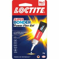 Cola Loctite Super Bonder Power Flex Gel 2G 24 + 2un - Cód. 7891200012572C26
