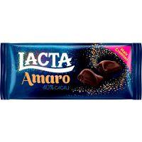 Chocolate Amaro Lacta 40% Cacau 90G - Cód. 7622210961716C17