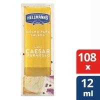 Molho para Salada Hellmanns Ceaser e Parmesao 108x12ml - Cód. 7891150077195