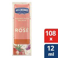 Molho para Salada Hellmanns Rose 108x12ml - Cód. 7891150077188