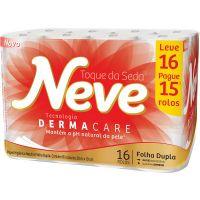Papel Higienico Neve 30M L16 P15 Neutro Compacto - Cód. 7891172432026C4