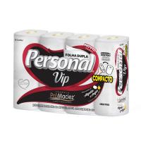 Papel Higienico Personal Vip Neutro Compacto 8X30M - Cód. 7896110004679C8
