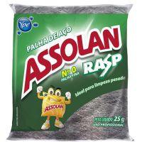 Palha de Aco Assolan N0 - Cód. 7896090122592C160