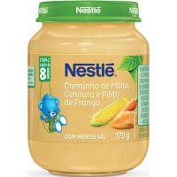 Alimento Infantil Nestle 170G Milho/Cenoura - Cód. 7891000087213C6