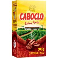 Cafe Caboclo 500G Extra Forte Vacuo - Cód. 7896089016215C20