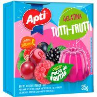 Gelatina Apti 35G Tutti-Frutti - Cód. 7896327514176C36