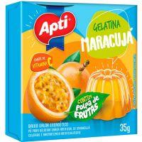 Gelatina Apti 35G Maracuja - Cód. 7896327514183C36