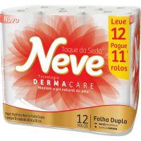 Papel Higienico Neve 30M L12 P11 Neutro Compacto - Cód. 7891172432019C4
