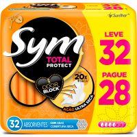 Absorvente Sym Normal Com Abas L32 P28 Seca - Cód. 7896110094618C15