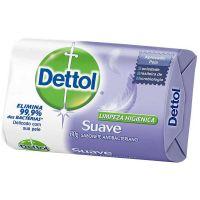 Sabonete Dettol 80G Suave - Cód. 7891035012075C72