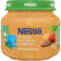 Papinha Nestle 115G Car/Leg/Ovo - Cód. 7891000049075C6