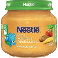 Papinha Nestle 115G Car/Leg/Mand - Cód. 7891000049068C6