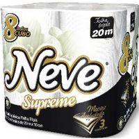 Papel Higiênico Neve 8X20M F.T.Supreme Compacto - Cód. 7891172432729C8