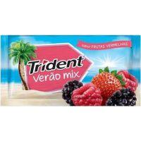 Goma De Mascar Trident 8G Frutas Vermelhas - Cód. 7622300847258C672