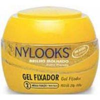 Gel Fixador Nylooks 250G Media Amarelo 2 - Cód. 7896235320418C12
