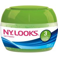 Gel Fixador Nylooks 250G Forte Verde 3 - Cód. 7896235320432C12