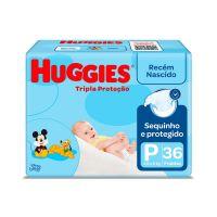 Fralda Huggies Tripla Protecao P 36un - Cód. 7896007510412C9