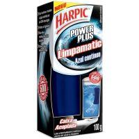 Bloco Sanitário Harpic Cx Acoplado 100G Limpamatic - Cód. 7891035128172C24