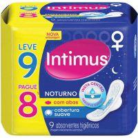Absorvente Intimus Gel NoturnoC/Abas L9 P8 Suave - Cód. 7896007547685C6
