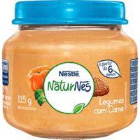Alimento Infantil Nestle 115G Carne C/Legumes - Cód. 7891000048962C6