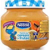 Alimento Infantil Nestle 120G Cereais E Frutas - Cód. 7891000049129C6