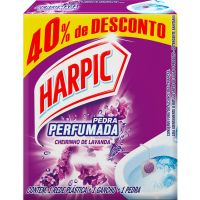 Pedra Sanitario Harpic Plus 20G 40%Desc Lavanda - Cód. 7891035524189C36
