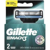 Carga Gillette Mach 3 2 unidades - Cód. 047400179240C72