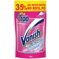 Tira Manchas Pó Vanish Rosa 35% Off 350G - Cód. 7891035051128C12