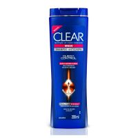 Shampoo Anticaspa Clear Men Queda Control 200Ml - Cód. 7891150001077C2