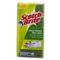 Esponja Scotch Brite Multiuso Com 3 - Cód. 7891040001408C360