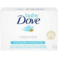Sabonete em Barra Baby Dove Hidratacao Enriquecida 75G - Cód. 7891150026025C48
