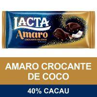 Chocolate AMARO Lacta Crocante de Coco 90g - Cód. 7622210962058C17