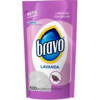 Limpador Bravo 500ml Refil Lavanda - Cód. 7894650162125C12