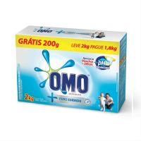Detergente Em Pó Omo Puro Cuidado Pg 1.8Kg E Lv 2Kg - Cód. 7891150048744C9