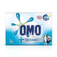 Detergente Em Pó Omo Puro Cuidado 1Kg - Cód. 7891150044876C20