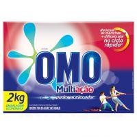 Detergente Em Pó Omo Multiação Poder Acelerador 2Kg - Cód. 7891150008502C9