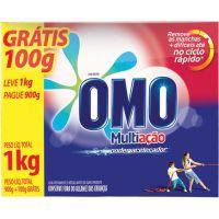 Detergente Em Pó Omo Multiação Pague 900Gr Leve 1Kg - Cód. 7891150018587C20