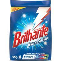 Detergente Em Pó Brilhante Brilho Ativo Roupas - Cód. 7891150016736C27