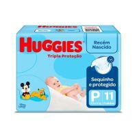 Fralda Huggies Tripla Protecao P 11un - Cód. 7896007510832C16