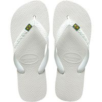 Sandália Havaianas Brasil Branco 43/4 - Cód. 7895265145336C12