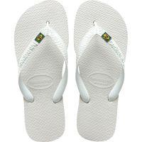 Sandalia Havaianas Brasil Branco 41/2 - Cód. 7895265145329