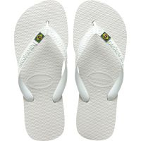 Sandalia Havaianas Brasil Branco 33/4 - Cód. 7895265145282
