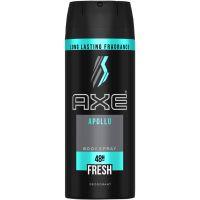 Desodorante Aerosol Fragrância Para O Corpo Axe Apollo - Cód. 7791293025780C12
