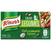 Caldo Knorr Legumes 6 cubos 57g - Cód. 7894000000268C10