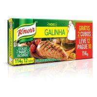 Caldo Knorr Carne L12 P10 114G - Cód. 7891150016866C10